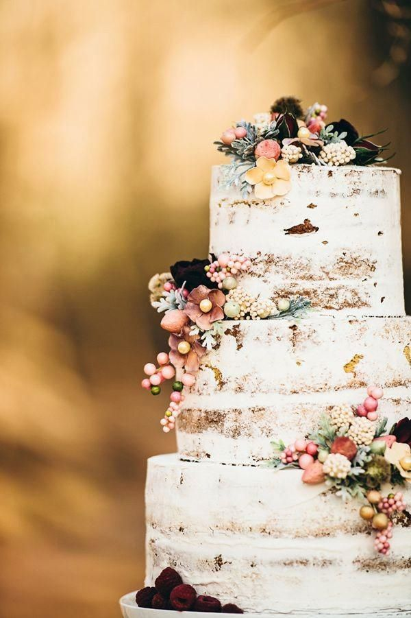 Fall Wedding Cake - via mywedding.com