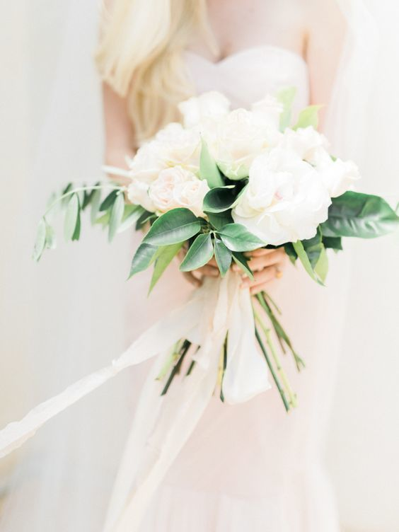 Modern Romance Wedding Decor - Bouquet - via mywedding.com