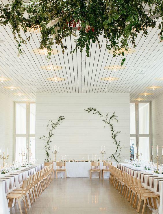 Modern Romance Wedding Decor - via greenweddingshoes.com