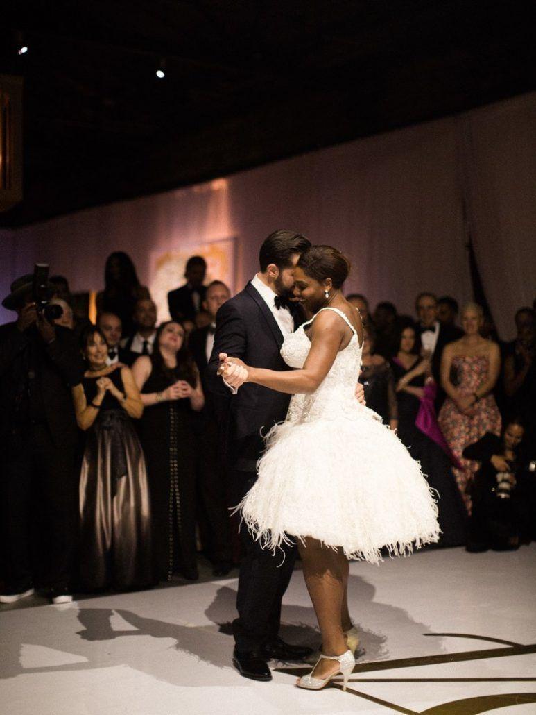 Serena Williams and Alexis Oharian - First Dance - via brides.com