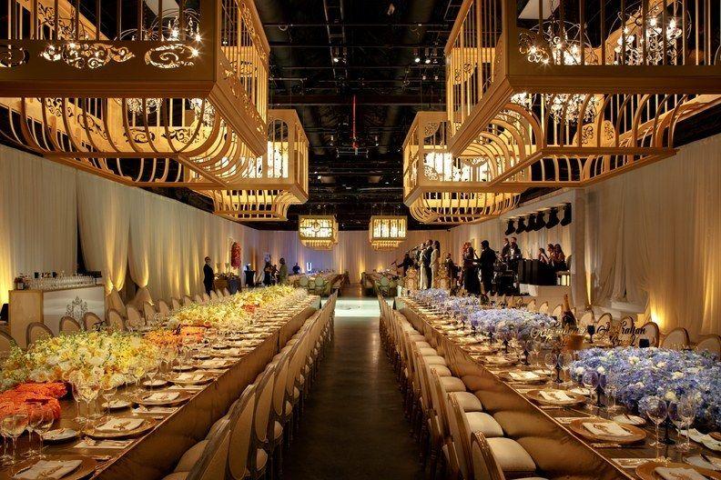 Serena Williams and Alexis Oharian - Wedding Reception - via brides.com