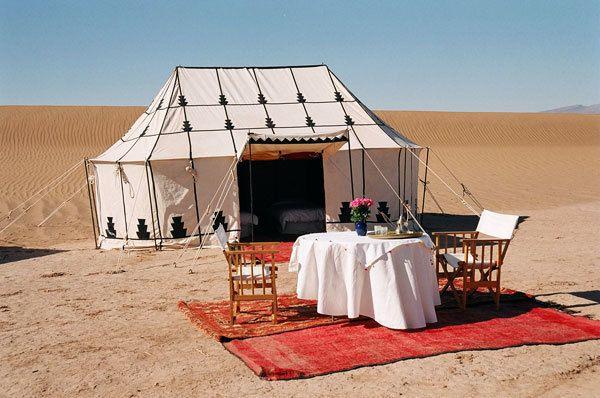 Morocco Luxury Tent Experience - via farandaway.us