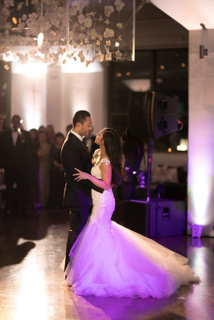 Sophia & Sam Wedding - First Dance - Tribeca 360 NYC - by Shira Weinberger