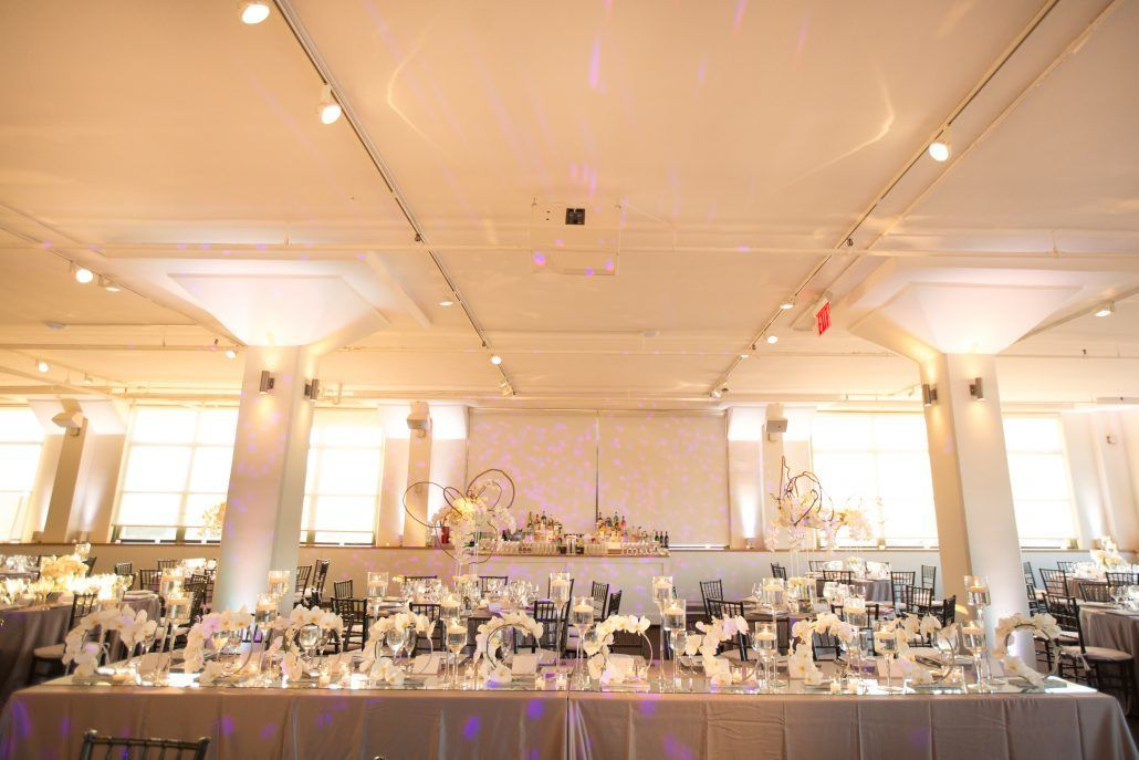 Sophia & Sam Wedding - Head Table - Tribeca 360 NYC - by Shira Weinberger