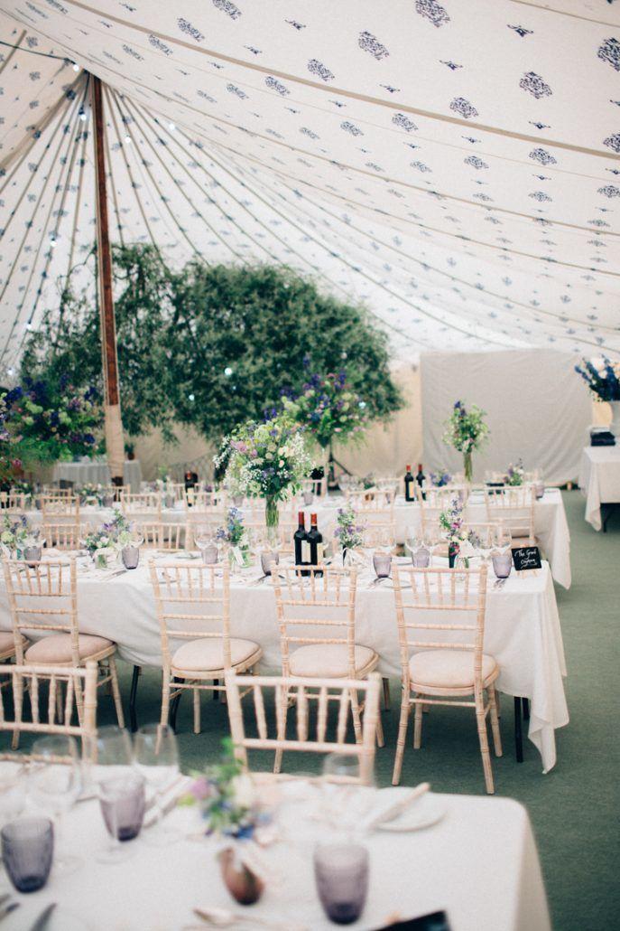 English Country Garden Wedding Decor - Reception - via whimsicalwonderlandweddings.com