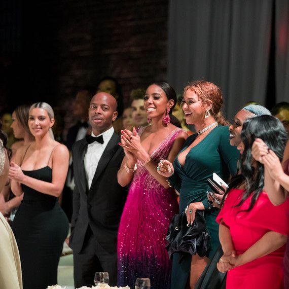 Serena Williams and Alexis Oharian Wedding - Kim Kardashian Kelly Rollands Beyoncé - via marthastuartweddings.com