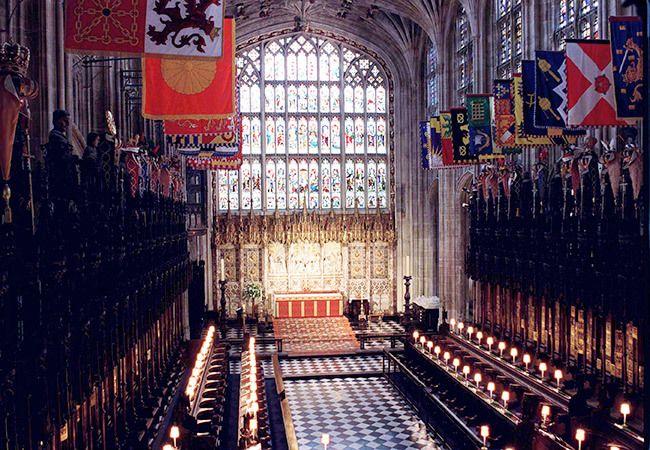 St. Georges Chapel - Windsor Castle - via us.hellomagazine.com