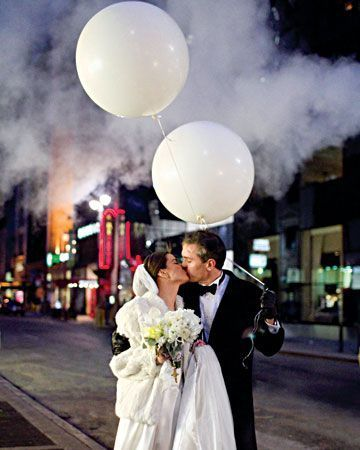 Winter Wedding Photos NYC - Street Scene - via pinterest.com