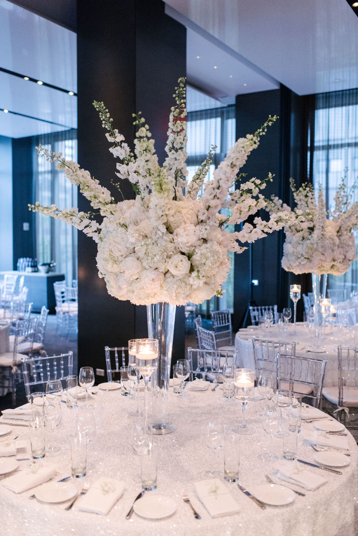 Beautiful ideas with delphinium wedding flowers by bride