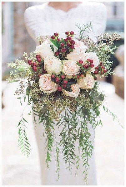 Rose Winter Bouquet - via myweddingfavors.com