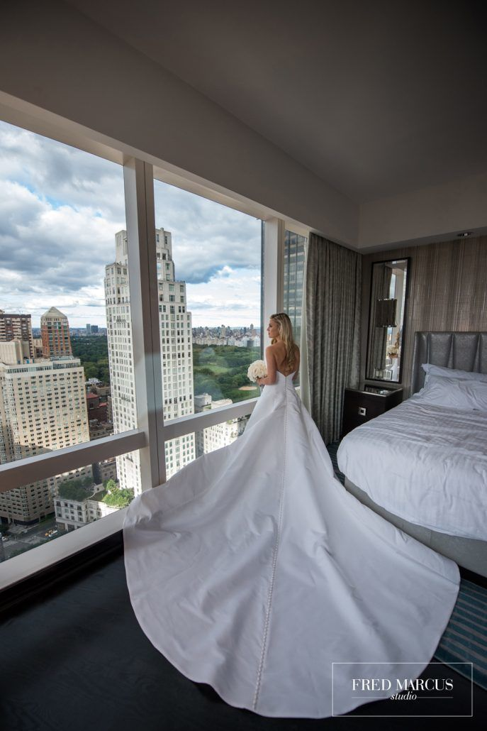 Marianna & Peter - Mandarin Oriental - by Fred Marcus Studio