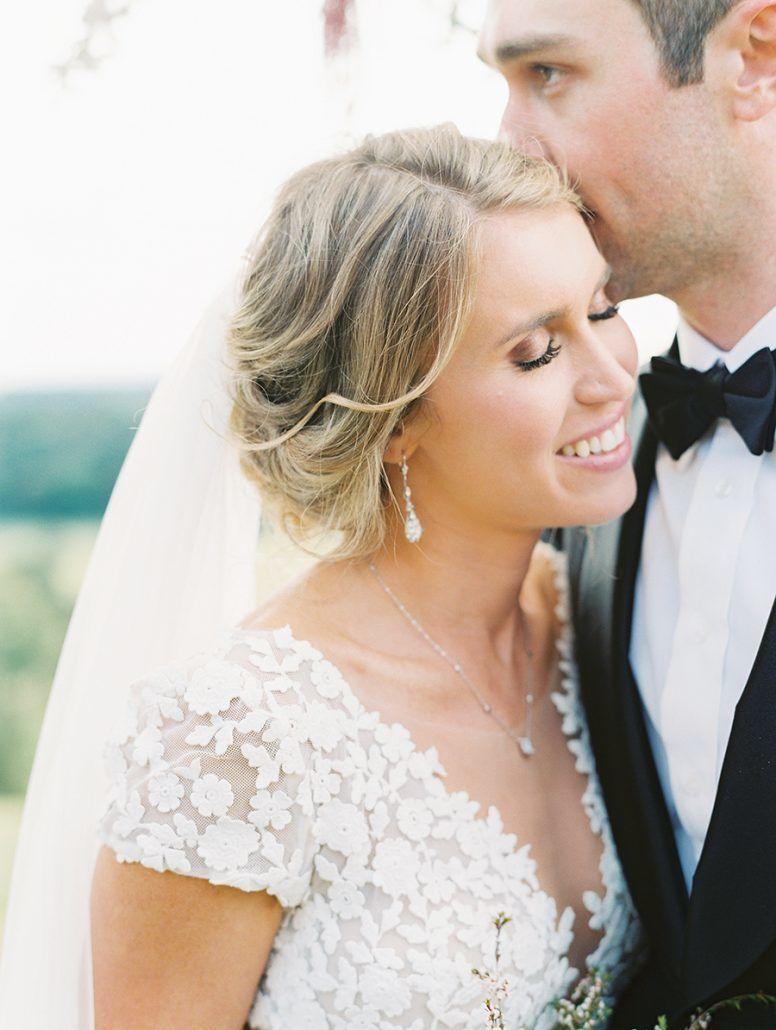 Kate & Chase Wedding - Bride & Groom - Mansion at Natirar - by Sally Pinera