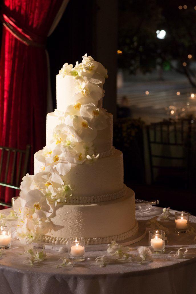 Raphaela & Neil Wedding - Wedding Cake - Metropolitan Club - by Hechler Photographers