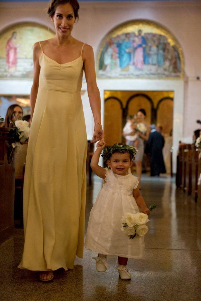 Aerin and Steven Wedding - Flower Girl Bridesmaid - Holy Trinity Cathedral Manhattan - Susan Shek Photography