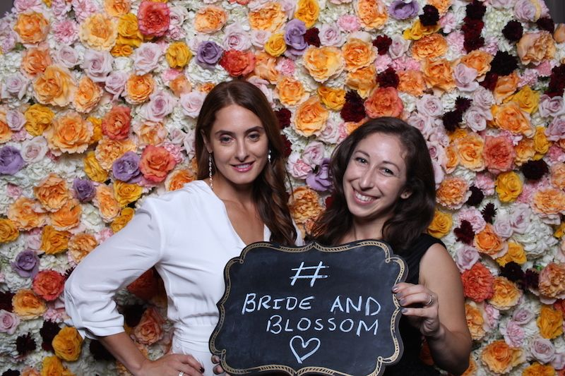 Rachel Trimarco & Bride & Blossom Director of Events Elianna Phelps - Wedding Wire Event