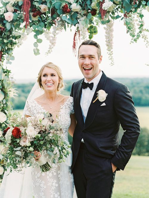 Kate & Chase - Bride & Groom - Mansion at Natirar - by Sally Pinera