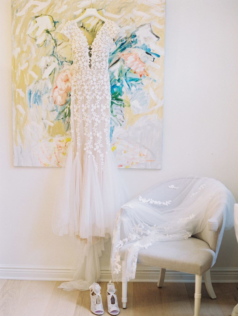 Kate & Chase Wedding - Wedding Dress - Mansion at Natirar - by Sally Pinera