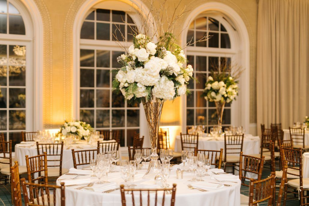 Lorenza & Pete Wedding - High Centerpiece - NYBG - by the Hons