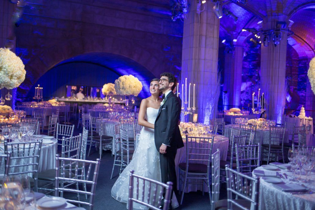 Madalyn & Jonathan Wedding - Bride & Groom - Guastavino's - by Joshua Zuckerman