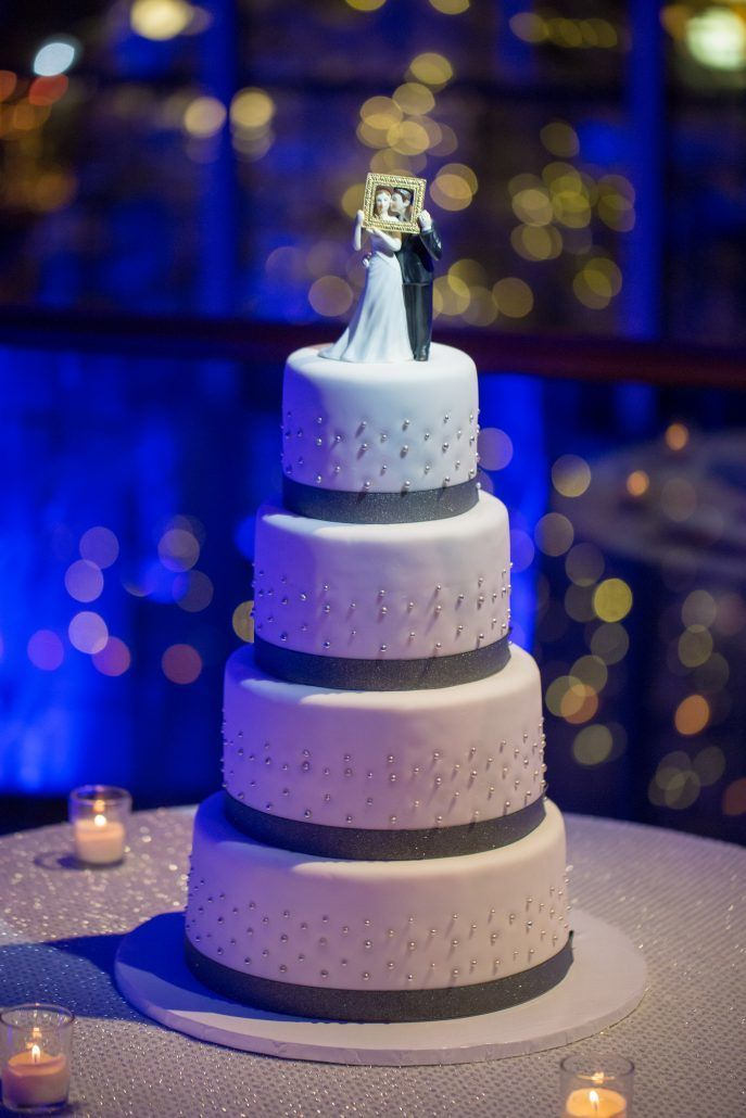 Madalyn & Jonathan Wedding - Wedding Cake - Guastavino's - by Joshua Zuckerman