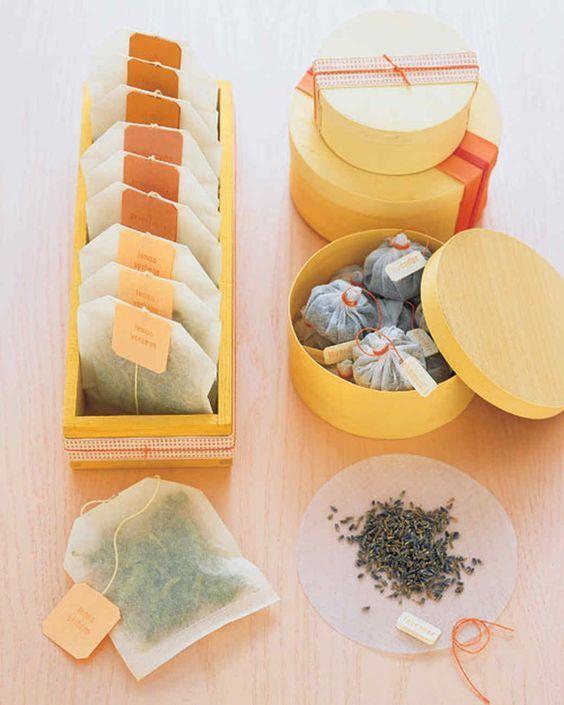 Tea Tubs - via marthastewart.com