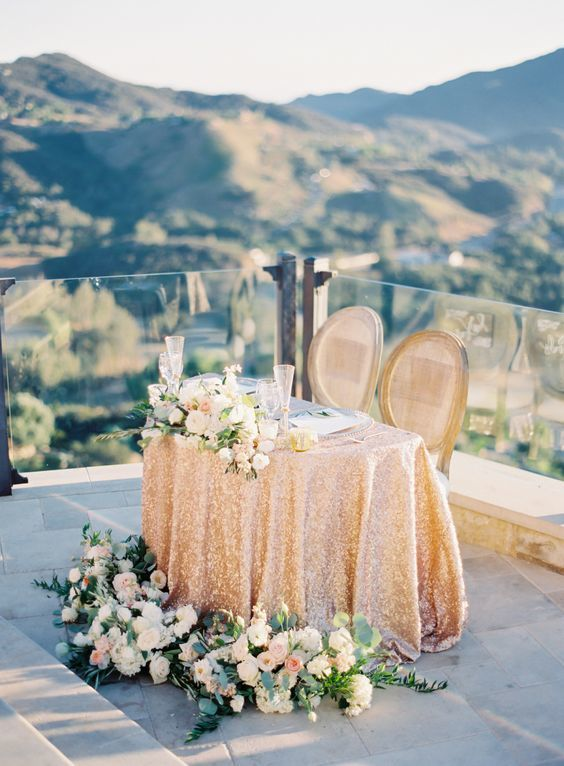Sweetheart Table - via stylemepretty.com