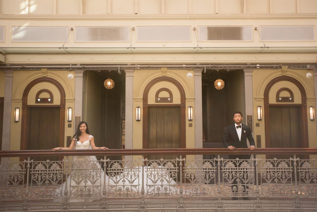 Sophia & Sam Wedding - Bride & Groom - Tribeca 360 NYC - by Shira Weinberger