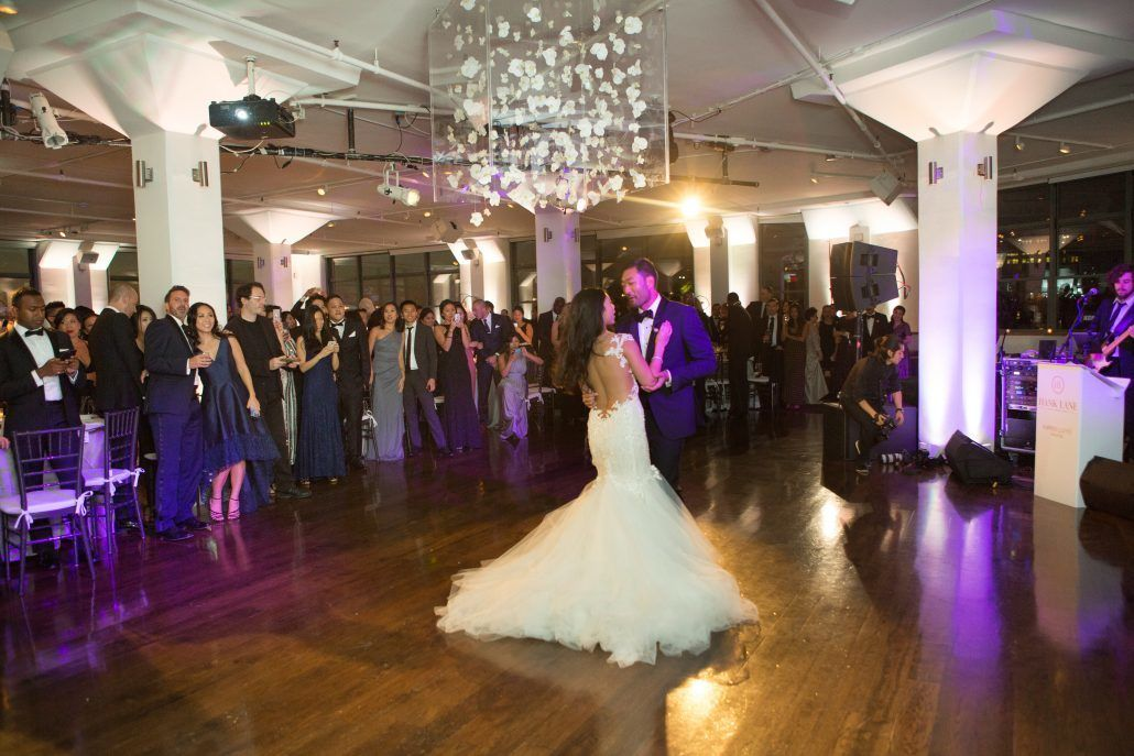 Sophia & Sam Wedding - First Dance - Tribeca 360 NYC - by Shira Weinberger