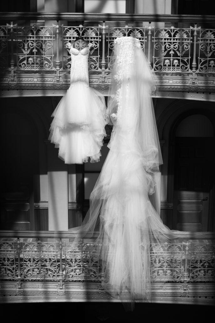 Sophia & Sam Wedding - Wedding Gown by Galia Lahav - Tribeca 360 NYC - by Shira Weinberger