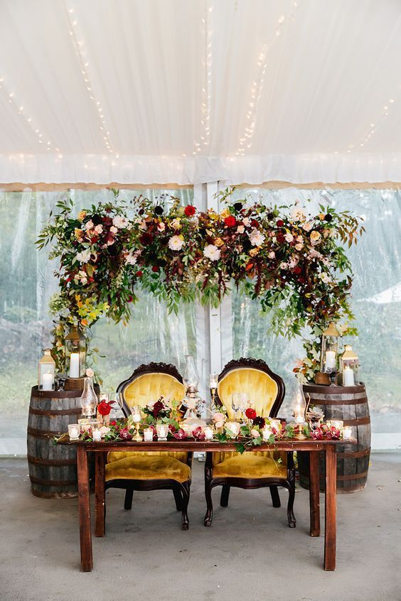 Sweetheart Table - via roseandrings.com