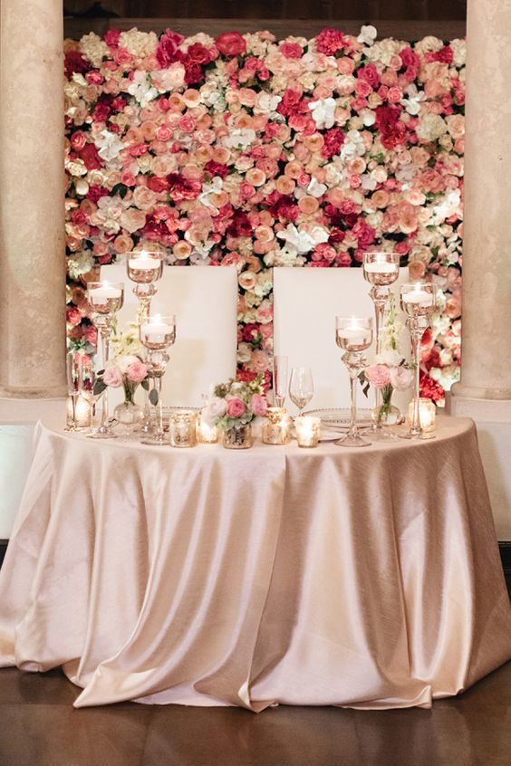 Sweetheart Table - via elizabethannedesigns.com