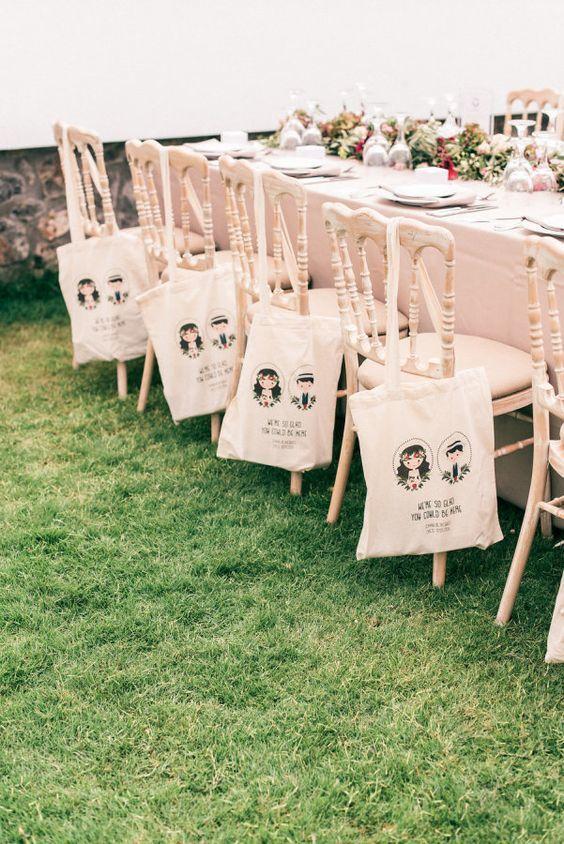 Wedding Favor Goodie Bag - via stylemepretty.com