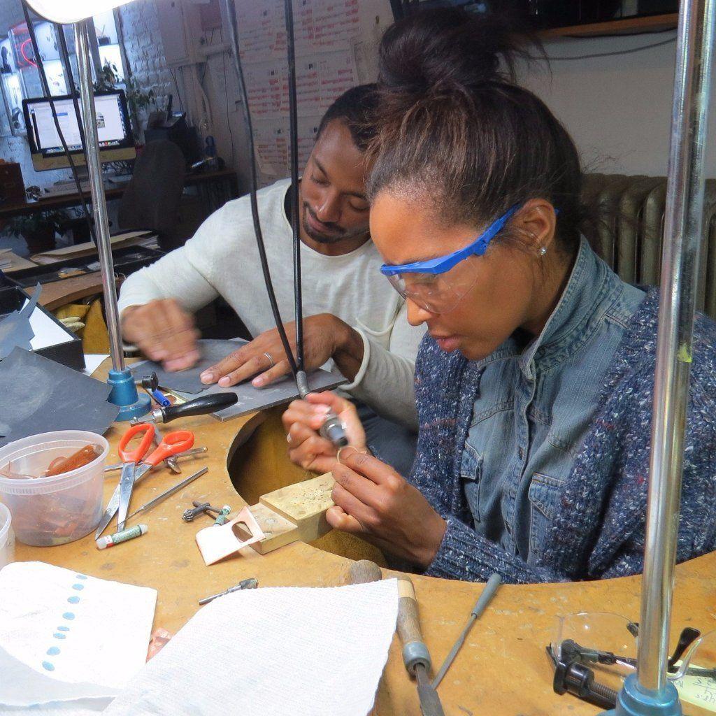 Couple Ring Making Workshop - via fitzgeraldjewelry.com