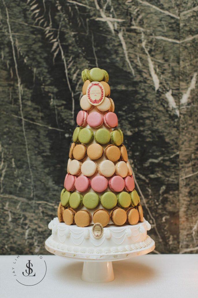 Florence & Devin Wedding - Laduree Tower - Burden Mansion - by JAYLim Studio