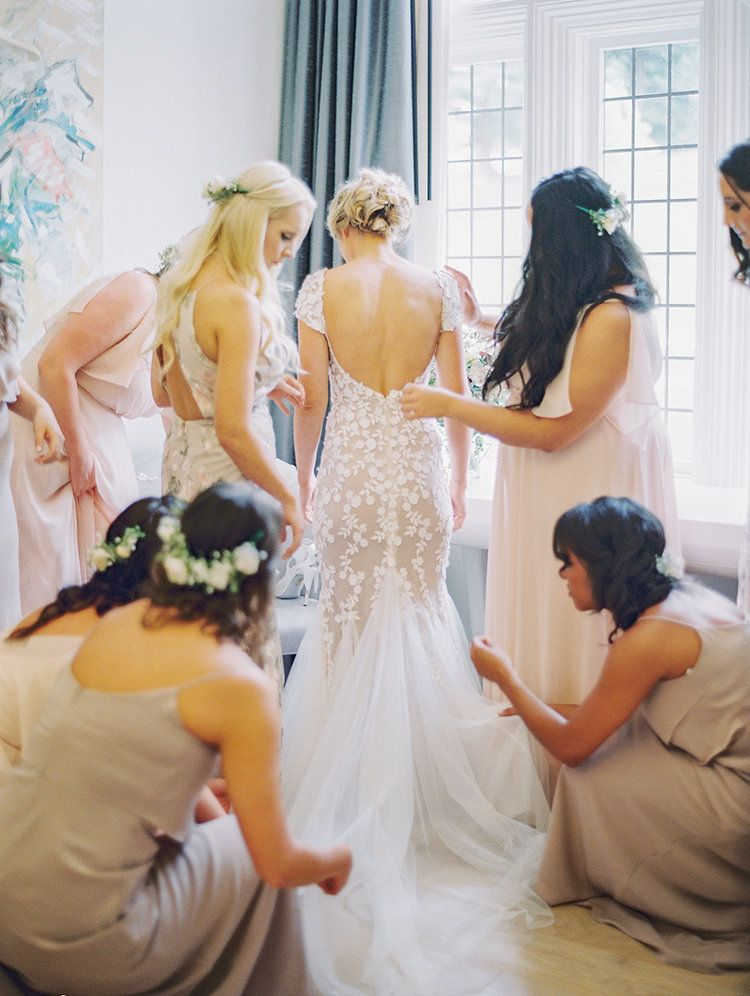 Featured Bride Kate On Her Gorgeous Liz Martinez Dress And
