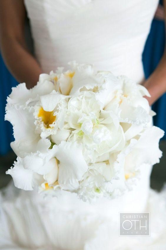 cattleya orchid bouquet - via pinterest.com