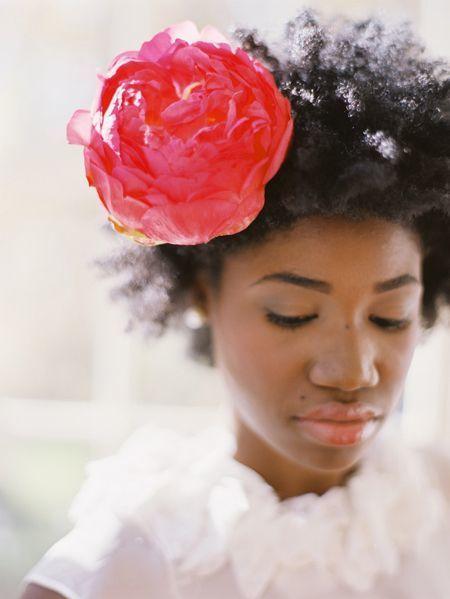 Statement Flower Hair Accessory - via thebridescafe.com