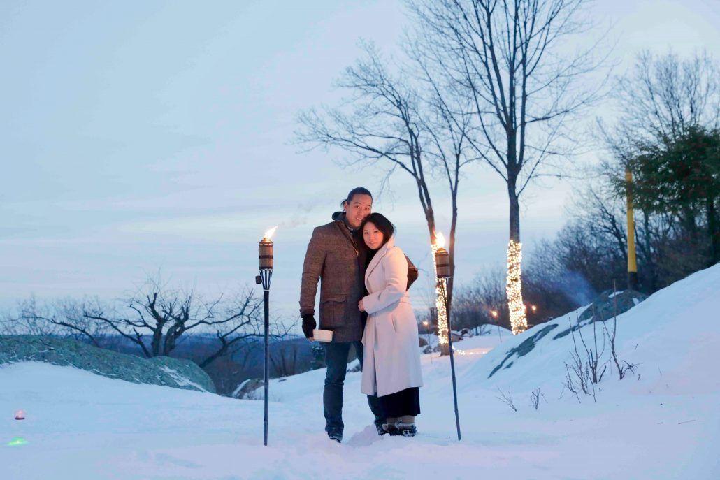 Jean & Bryan Wedding - Proposal - courtesy of bride