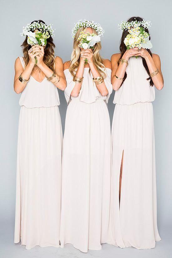 Boho Blush - via weddingchicks.com