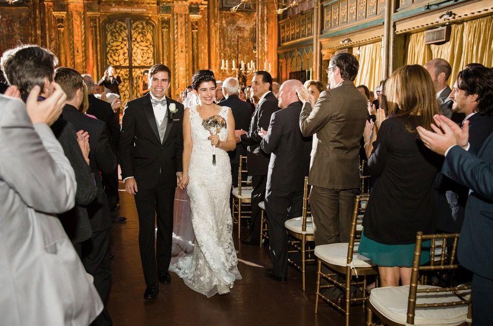 Angel Orensanz Center Wedding - via José Rolón Events