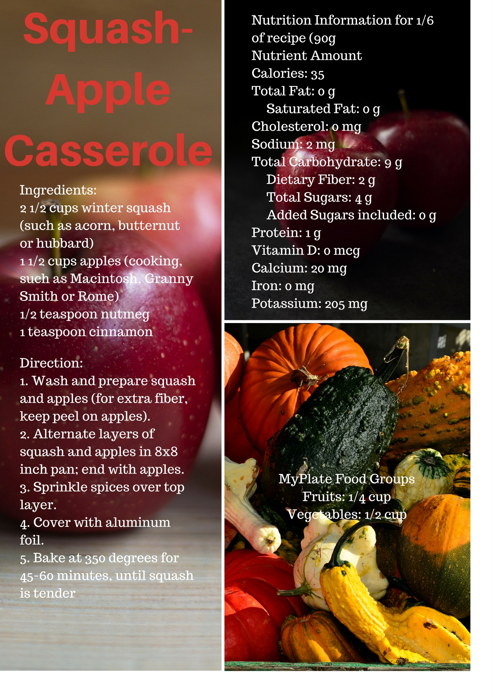 Cornell cooperative extension healthy recipes squash appleg forumfinder Images