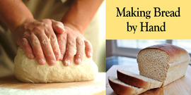 Baking bread by hand