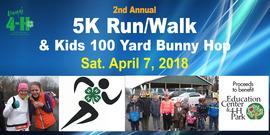 5 k run banner art 2018