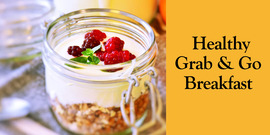 Grab   go breakfast banner