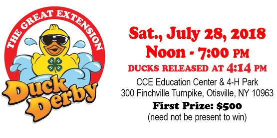 Duck derby 2018 header