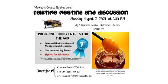 beekeepers fair meeting