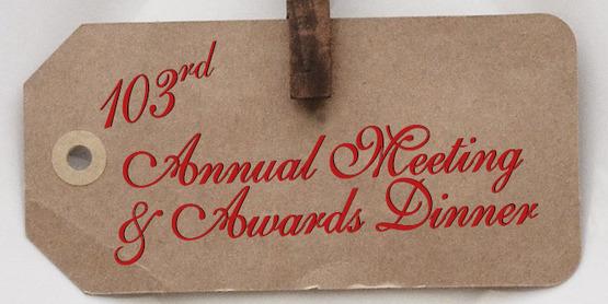 Annual meeting invite digital closeup