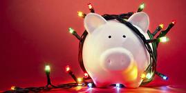 Pig in lights