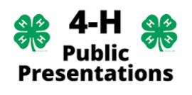 Public presentations1