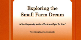 Book exploring small farm dream